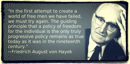 Citations pour 2013 : Friedrich Hayek