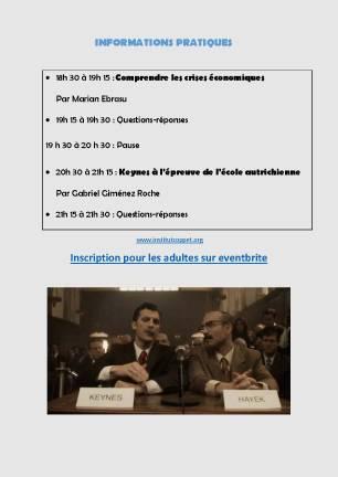 Infos conférence du 31 à stan
