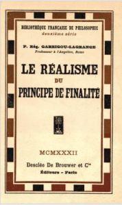 garrigou réalisme principe finalite
