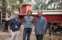 David Kelley avec l'acteur