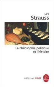 strauss La philosophie politique et l'histoire