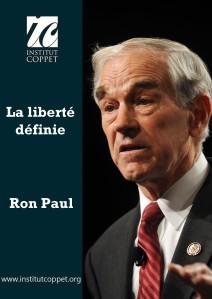Ron Paul liberté définie